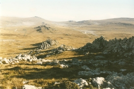 Falklands mountains