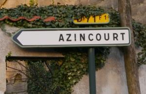 Azincourt or Agincourt