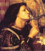Joan of Arc Dante Gabriel Rossetti